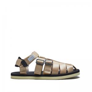 SUICOKE SUICOKE Shaco Sandals - Beige