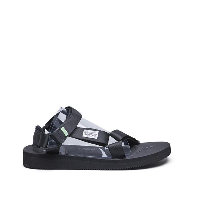 SUICOKEDepa-Cab Sandals - Black