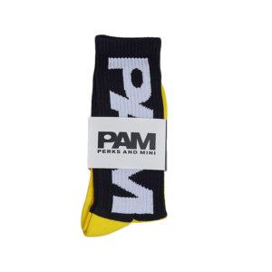 P.A.M. (PERKS & MINI) Calcetines PAM BTC - Black / Yellow
