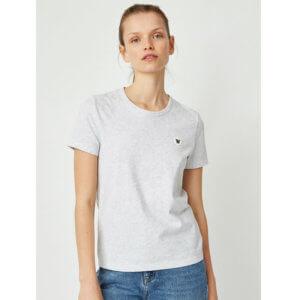 WOOD WOOD Double-A Uma T-shirt - Light Grey Melange