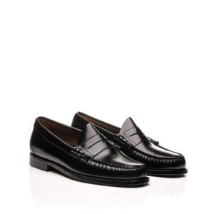 G.H. BASS Weejuns Wmns Penny Loafers - Black Leather
