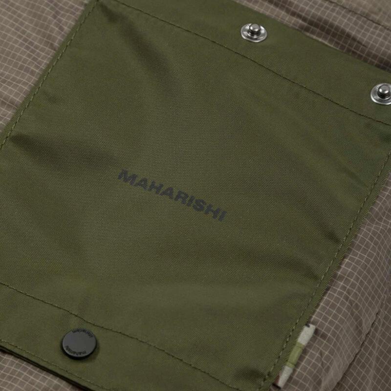 MAHARISHI 9108 Miltype Rollaway Backpack - Olive