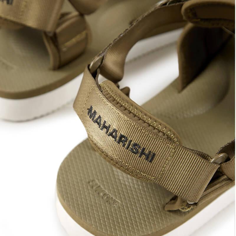 SUICOKE x MAHARISHI Kuno-2 Sandals - Olive
