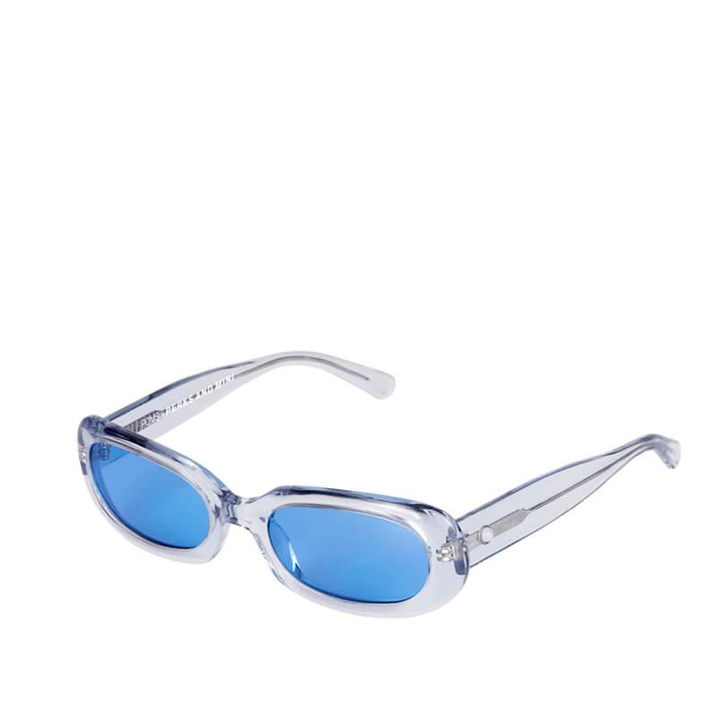 P.A.M. (Perks & Mini) x POMS Retta Sunglasses - Clear Grey