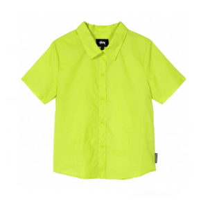 STÜSSY Light Ripstop Women Shirt - Lime