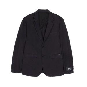 STÜSSY Seersucker Sport Coat - Black