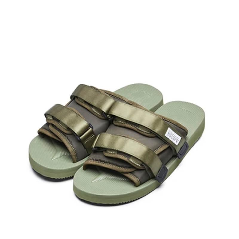 SUICOKEMoto Cab Sandals - Olive