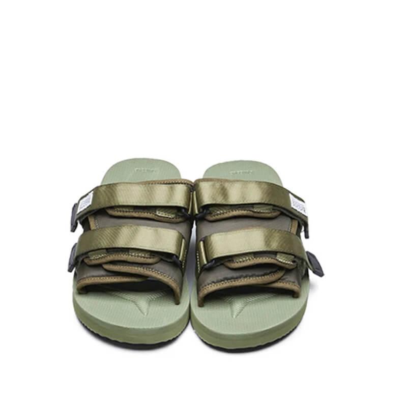 SUICOKE Moto Cab Sandals - Olive