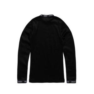 Aries Cotton LS Top - Black