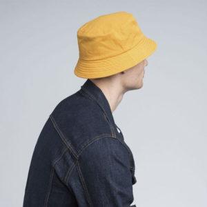 KANGOL Washed Bucket Hat - Marigold