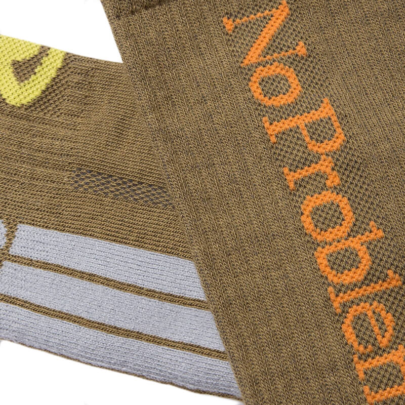 ARIES No Problemo Socks - Army Green