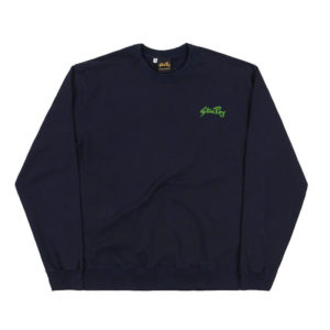 STAN RAY Stan Hooded Sweat – Navy / Green
