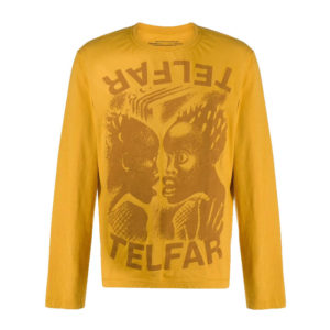 TELFAR The Bomb LS Tee - Yellow