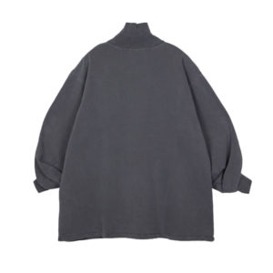 STAND ALONE High Neck Sweatshirt – Dark Grey