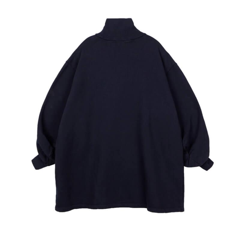 STAND ALONE High Neck Sweatshirt – Navy
