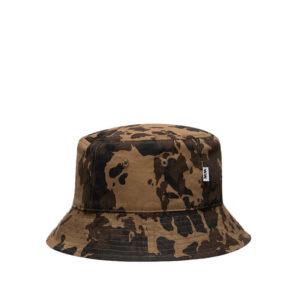 WOOD WOOD Reversible Bucket Hat – Green AOP