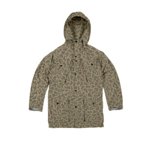 MAHARISHI Camo Cargo Smock Jacket – Olive