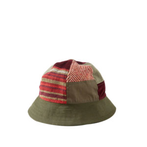 MAHARISHIBucket Patchwork Hat - Olive