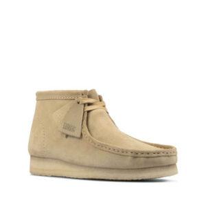 CLARKS ORIGINALS Wallabee Boots - Maple Suede