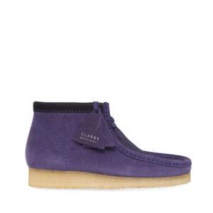CLARKS ORIGINALS Wallabee Boots - Purple
