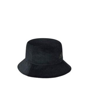 KANGOL Corduroy Bucket Hat – Black