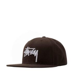 STUSSY Stock Cap - Brown