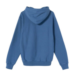 STUSSY Stock Logo Hood – Blue