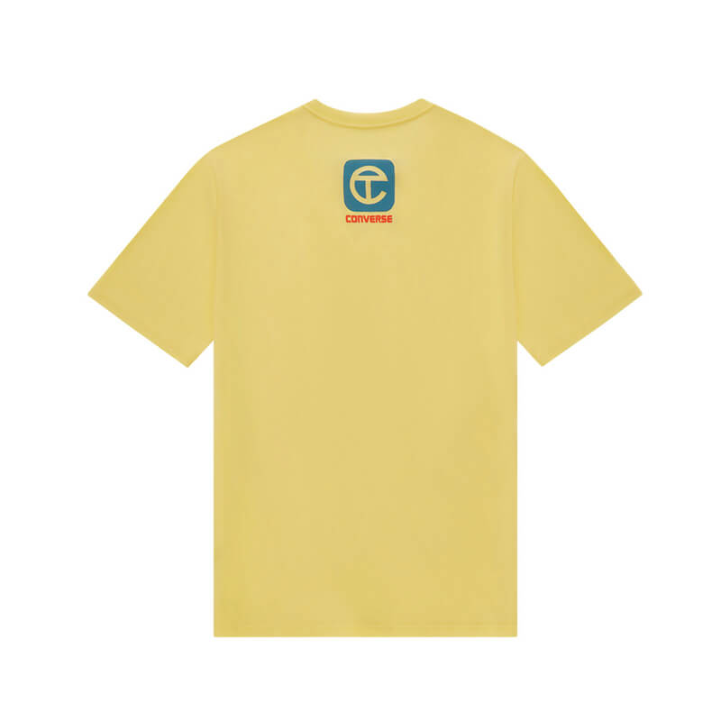 TELFAR x CONVERSE Camiseta LZ - Yellow Cream