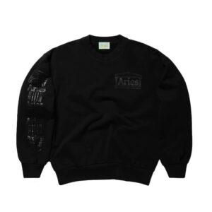 ARIES Column Sweatshirt - Black
