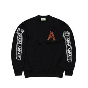 ARIES Greek Column Sweatshirt - Black