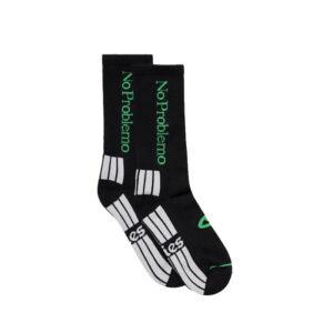 ARIES No Problemo Socks - Black / Green