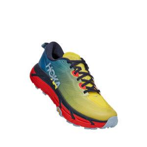 HOKA ONE ONE Zapatillas Mafate Speed 3 - Providencial Blue / Fiesta