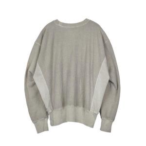 STAND ALONE Back Logo Sweatshirt – Grey