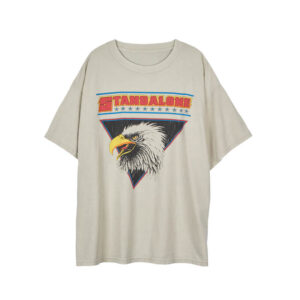STAND ALONE Eagle Vintage Tee – Light Grey