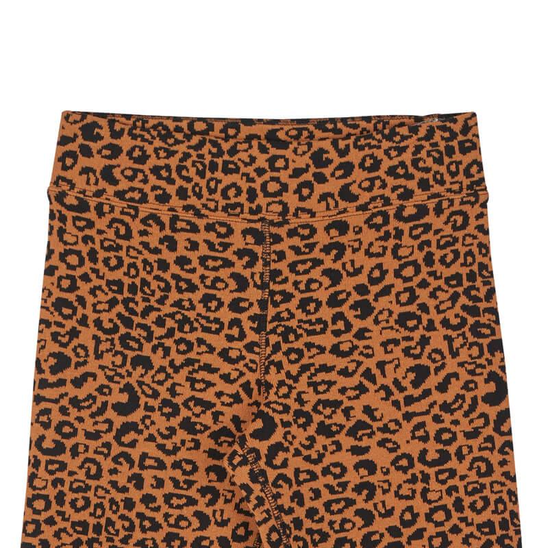 STAND ALONE Leopard Knit Bermuda Legging