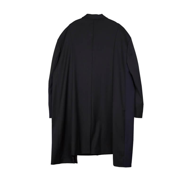 STAND ALONE Abrigo Oversized Two Tone - Black