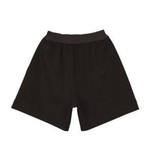 STAND ALONE Reverse Neoprene Shorts - Black
