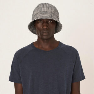 YMC Gilligan Cotton Linen Hat – Navy