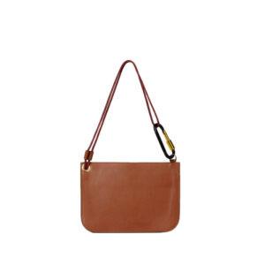 ARIES Bobby Leather Bag - Tan