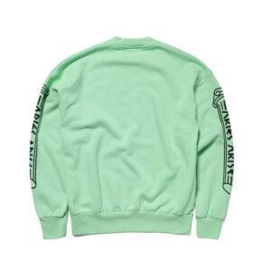 ARIES Greek Column Sweatshirt – Aqua