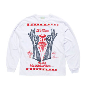 ARIES It's Time LS Tee - White