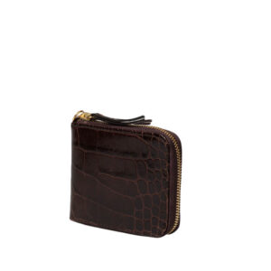 ARIES Leather Wallet – Crocodile