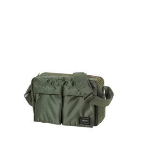 PORTER YOSHIDA Tanker Shoulder Bag - Sage