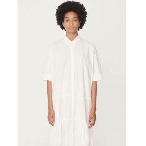 YMC Vestido Luna Cotton - White
