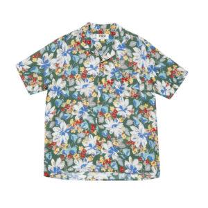 YMC Camisa Malick Silk - Floral Print