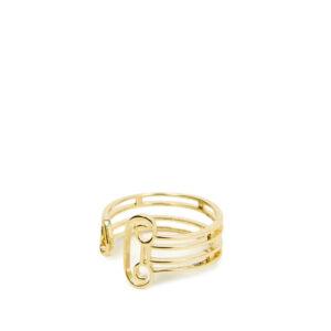 ARIES Column Ring - Gold