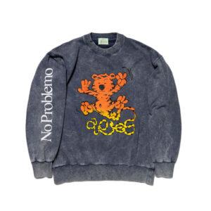 ARIES Flatulant Tiger Sweatshirt - Navy