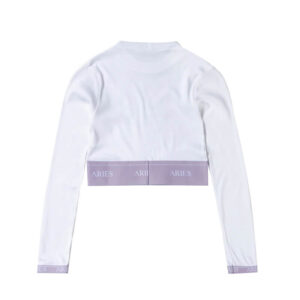 ARIES Rib Crop Top - Lilac