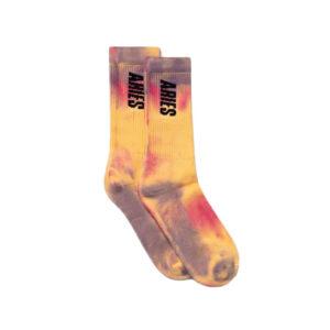 ARIES Calcetines Tie-Dye - Yellow