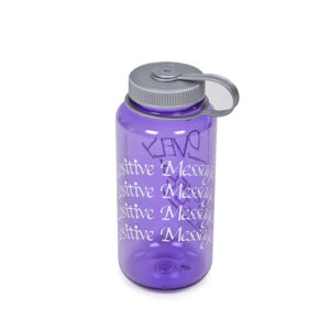 P.A.M. (Perks & Mini) Botella Lovely 1l Nalgene | A Positive Message - Grape